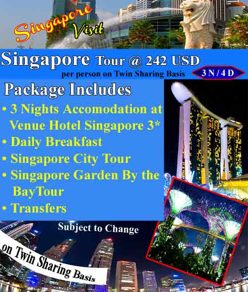 Singapore Tour Saleem Travels